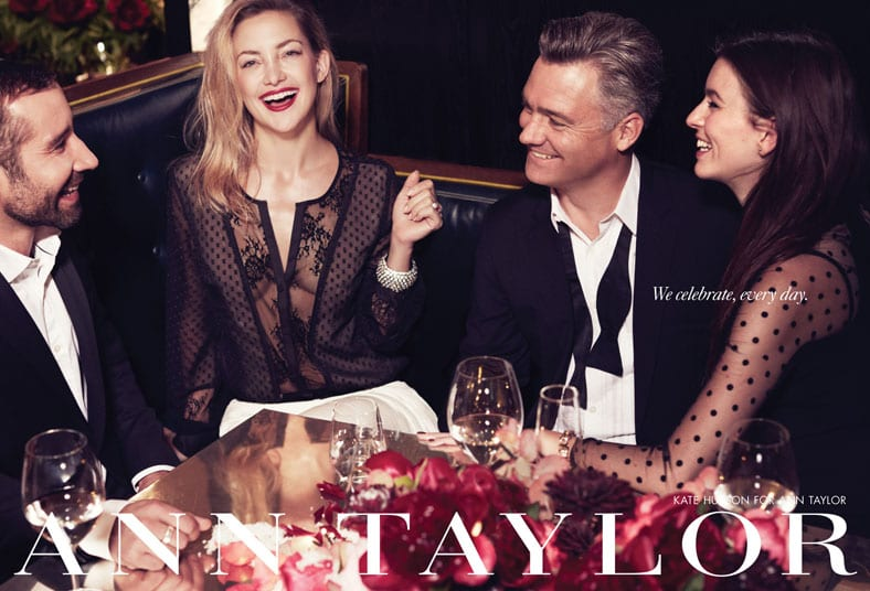 Ann Taylor Holiday 2013 Campaign