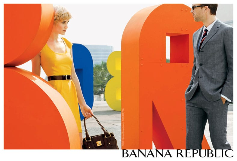 Banana Republic Spring 2008 Campaign