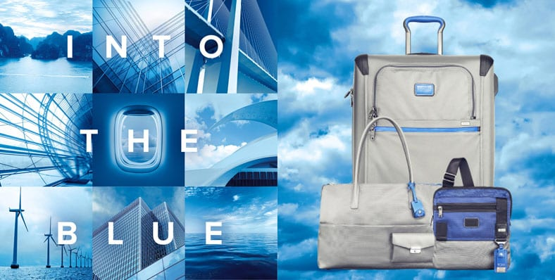 Tumi - Into the Blue Luggage Collection