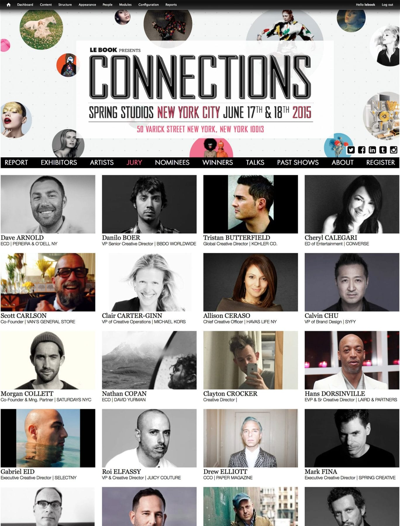 Jury with Partner | CONNECTIONS NEW YORK 2015